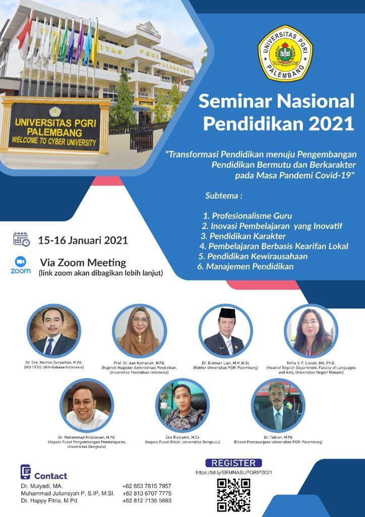SEMINAR NASIONAL PENDIDIKAN 2021